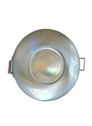 Salhiya Lighting Spotlight Frame, LED Bulb Type, Round Fixed, AL1042SC, Gold