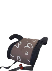 Cam Pony Booster Seat with Belt Guide and Armrests, Brown
