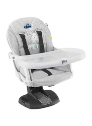 Cam Idea Booster Baby Feeding Chair, Rabbit, Grey