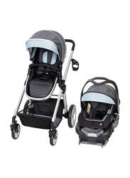 Baby Trend Go Gear Sprout 35 Travel System Baby Stroller, Blue Spectrum, Blue/Black