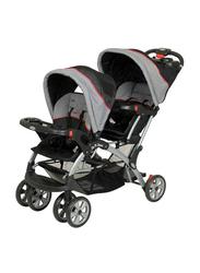 Baby Trend Sit N Stand Double Baby Stroller, Millennium, Grey/Black