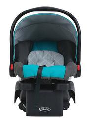 Graco SnugRide Click Connect 30 Infant Car Seat, Finch, Black/Blue