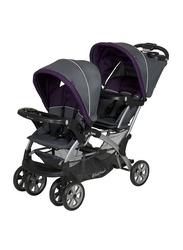 Baby Trend Sit N Stand Double Baby Stroller, Elixer, Purple/Grey