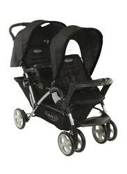 Graco Stadium Sport Luxe Duo Baby Stroller, Black