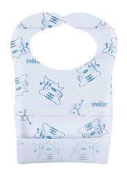 Farlin Disposable Baby Paper Bib, Pink/Blue