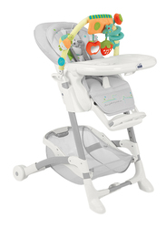 Cam Istante Baby High Chair, Rabbit, Grey