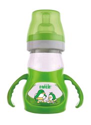 Farlin Angle Feeder Bottle and Nipple with Handle 180ml, Green