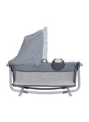 Baby Trend Retreat Nursery Center Play Yard with Bassinet, Hint of Mint, Mint/Black