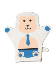 Farlin Baby Wash Mitten for Babies, Monkey, White