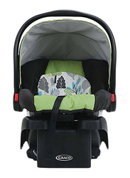 Graco SnugRide Click Connect 30 Infant Car Seat, Bear Trail, Black/Green