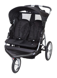 Baby Trend Expedition Ex Double Jogger Baby Stroller, Griffin, Black