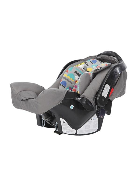 Graco Junior Kids High End Pop Car Seat, Grey