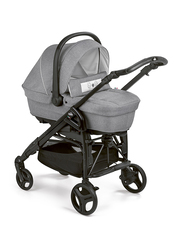 Cam Combi Family Romantic Travel System Baby Stroller, Grey