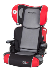 Baby Trend Protect Series Yumi 2-in-1 Folding Booster Kids Car Seat, Riley, Red/Black