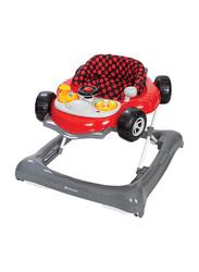 Baby Trend 5.0 Activity Walker, Speedster, Grey/Red