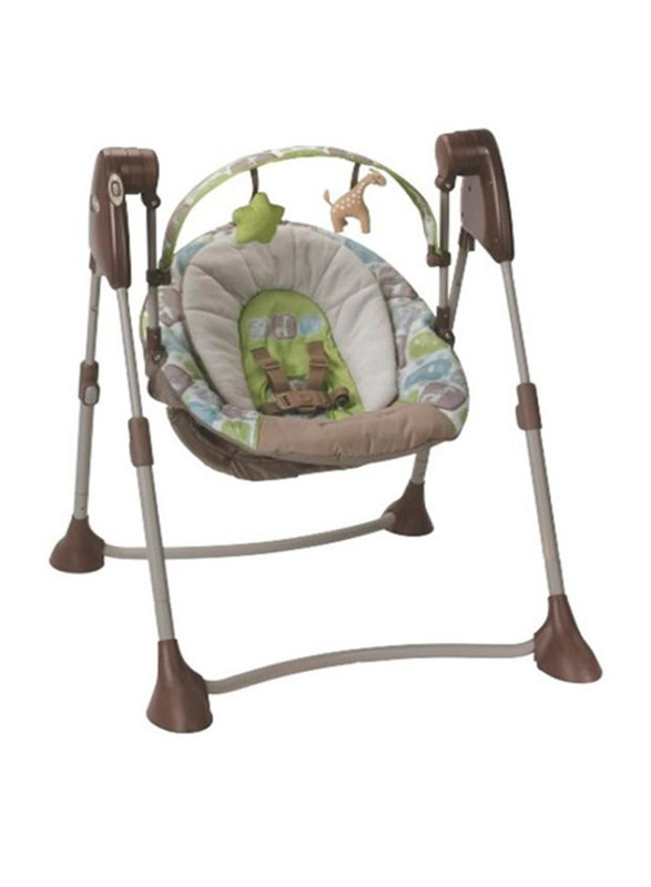 Graco By Me Sequoia Baby Swing, Brown