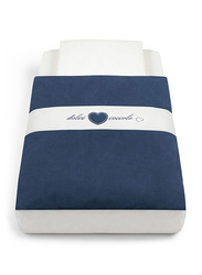 Cam Baby Bedding Kit for Cullami Cradle, Navy Blue