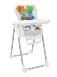 Cam Pappananna Baby High Chair, Mouse, White