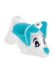 Cam Dudu Anatomical Baby Seat Removable Potty, Dog, Blue