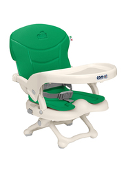 Cam Smarty Booster Baby High Chair, Green