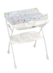 Cam Volare Bath Table for Kids, Kites, White