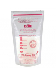 Farlin 22-Pieces Breast Milk Storage Bag 120ml, Clear