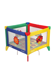Graco Pack 'N Play Quilt Play Pen, Square Bugs, Red/Green/Blue/Yellow