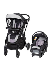 Baby Trend City Clicker Pro Snap Gear Travel System Baby Stroller, Black