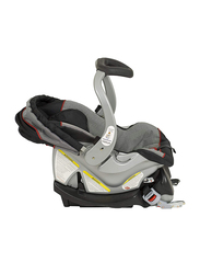 Baby Trend Felex Loc Infant Car Seat, Millenium, Black/Grey