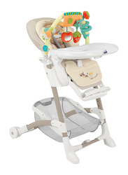 Cam Istante Baby High Chair, Bear, Brown