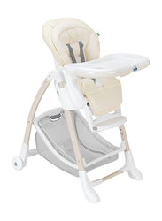 Cam Gusto Baby High Chair, Beige