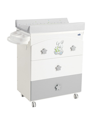 Cam Chest of Drawers for Baby, Grey