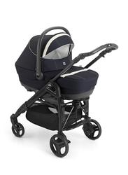 Cam Combi Family Romantic Travel System Baby Stroller, Navy Blue