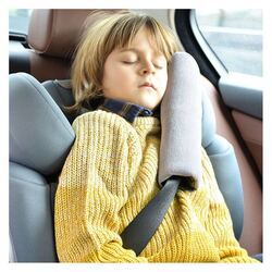 Ubeybi Seatbelt Pillow, Navy Blue