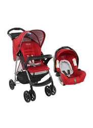 Graco Ultima Travel System Baby Stroller, Chilli Red