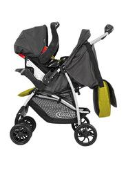 Graco BK Travel System Baby Stroller, Black/Green