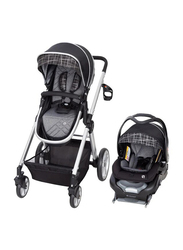 Baby Trend GoLite Snap Tech Sprout Travel System Baby Stroller, Phoenix, Black