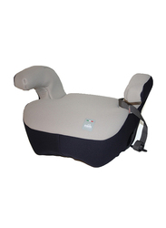 Cam Cushion Padded Booster Seat with Armrests and Belt Guide, Grey