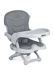 Cam Smarty Pop Booster Feeding Chair, Ash Grey