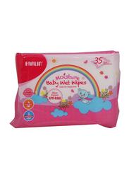Farlin Anti-Rash 35 Wet Wipes for Babies, White