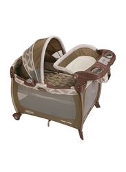 Graco Pack N Play Silhouette Farro for Baby, Brown