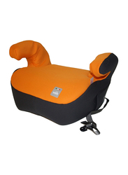 Cam Cushion Padded Booster Seat with Armrests and Belt Guide, Orange