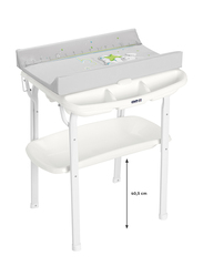 Cam Aqua Bath Table for Kids, Rabbit, Grey/White