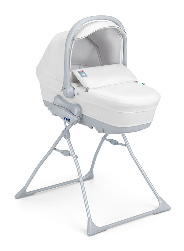 Cam Stand for Carrycot and Area Zero+, White