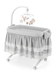 Cam Cullami Co Bed Cradle for Baby, Luxury, Grey