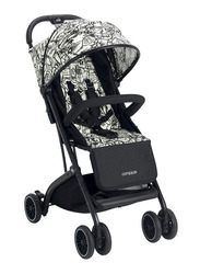Cam Compass Baby Stroller, Printed White