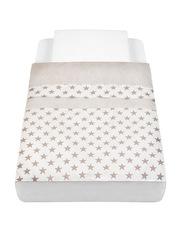 Cam Baby Bedding Kit for Cullami Cradle, Stars, Beige/White