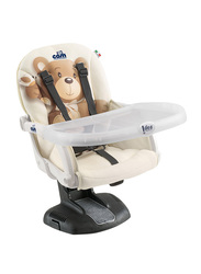 Cam Idea Booster Baby Feeding Chair, Bear, Brown