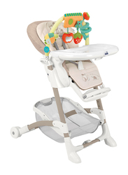 Cam Istante Baby High Chair, Bear, Beige