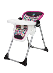 Baby Trend Sit-Right 3-in-1 High Chair for Girl, Bloom, Pink